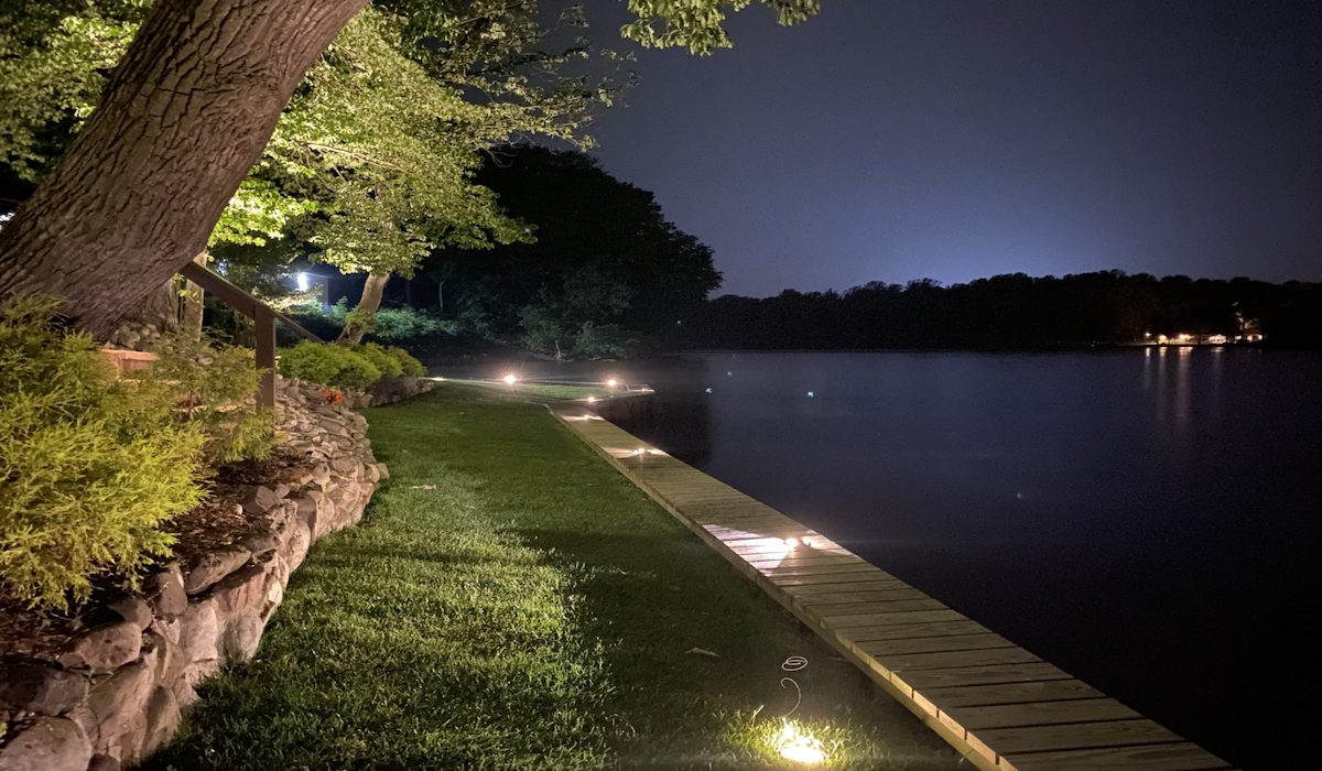 led landscape lighting lewes